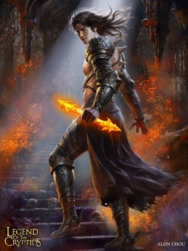 games fantasy characters male warrior legend of the cryptids wallpaper