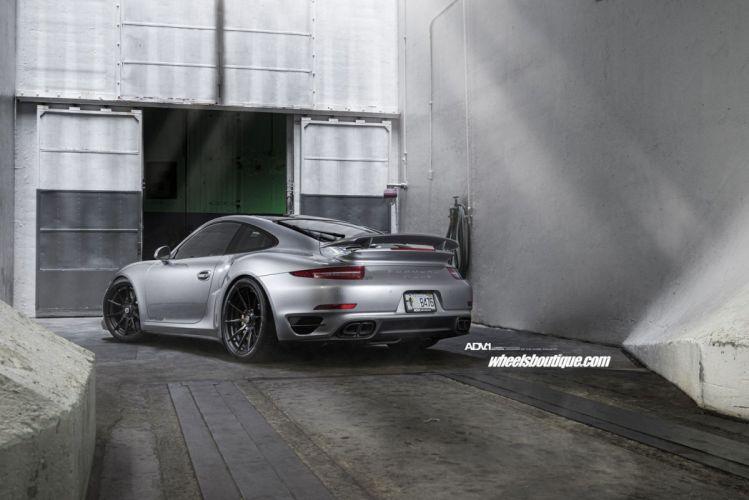 Porsche 991 Turbo S ADV1 wheels cars wallpaper