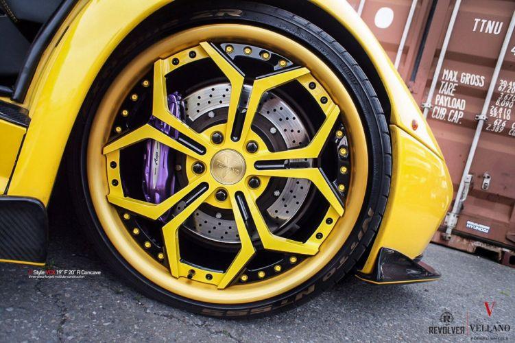 LAMBORGHINI DIABLO vellano Wheels cars wallpaper