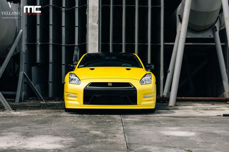 Nissan GT-R godzilla vellano Wheels cars wallpaper