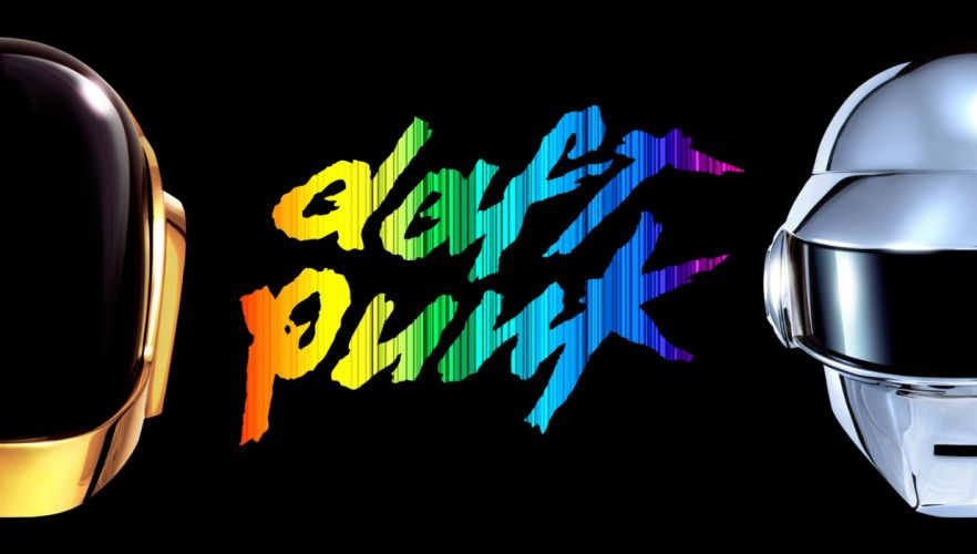 DAFT PUNK dubstep electro house dance disco electronic robot cyborg poster wallpaper