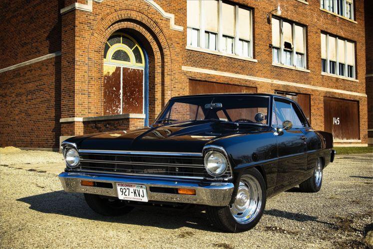 1967 chevy Nova cars classic wallpaper