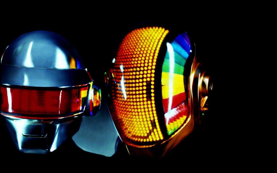 DAFT PUNK dubstep electro house dance disco electronic robot cyborg wallpaper