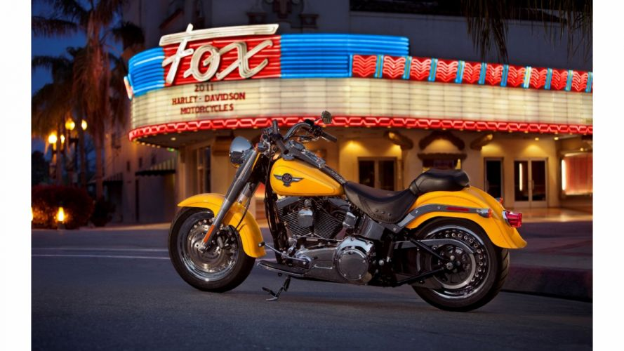 moto americana harley davidson amarilla wallpaper