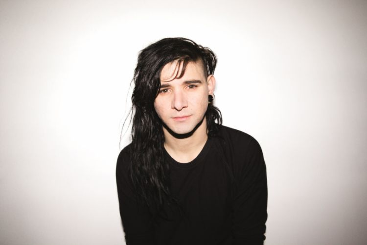 SKRILLEX dubstep electro house dance disco electronic robot cyborg wallpaper