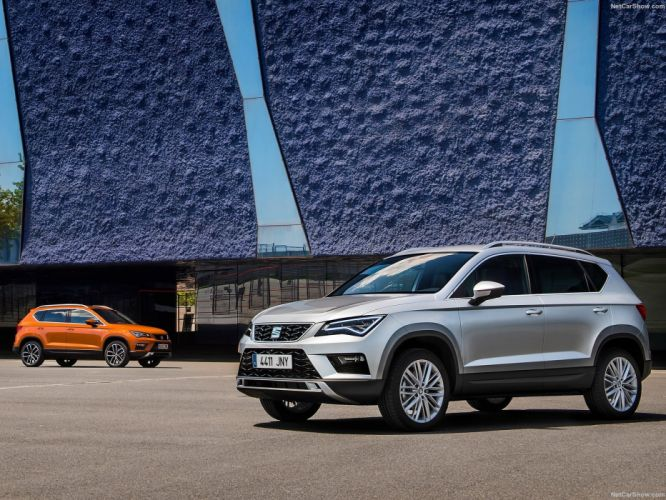 Seat Ateca suv cars 2016 wallpaper