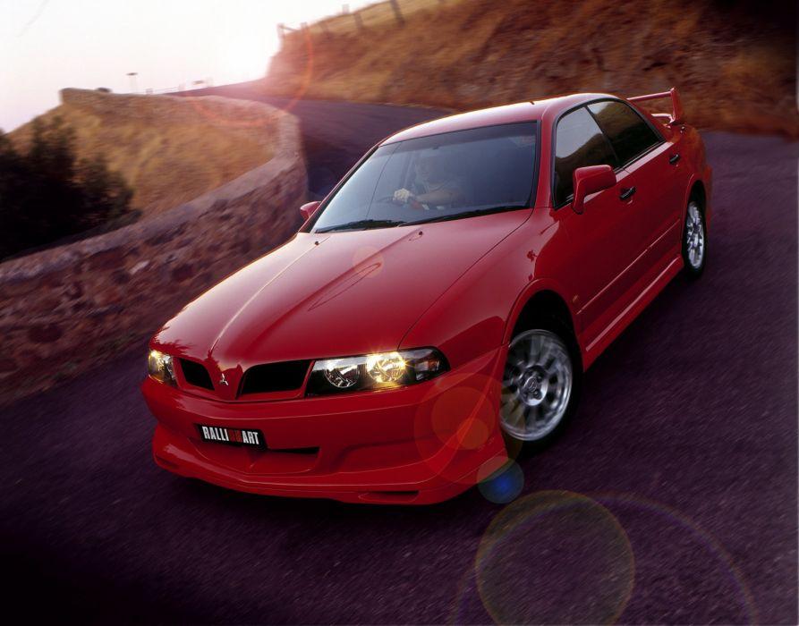 Mitsubishi Magna Ralliart cars sedan 2002 wallpaper