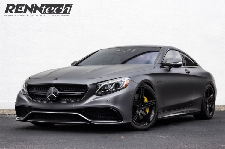 Mercedes AMG S63 Coupe cars modified Renntech wallpaper