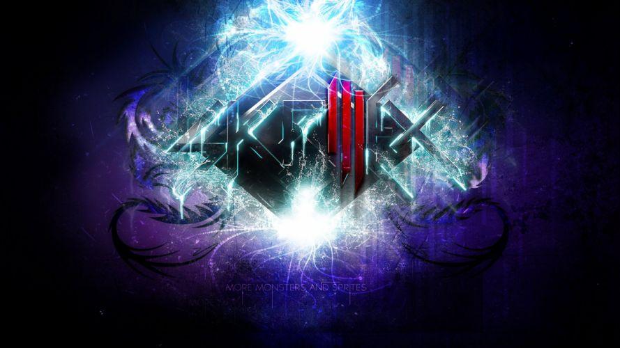 SKRILLEX dubstep electro house dance disco electronic robot cyborg poster wallpaper