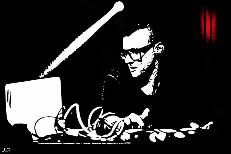 SKRILLEX dubstep electro house dance disco electronic wallpaper