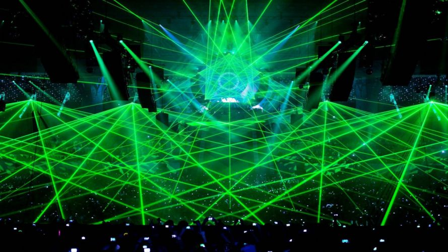 EDM dubstep electro house dance disco electronic concert rave wallpaper