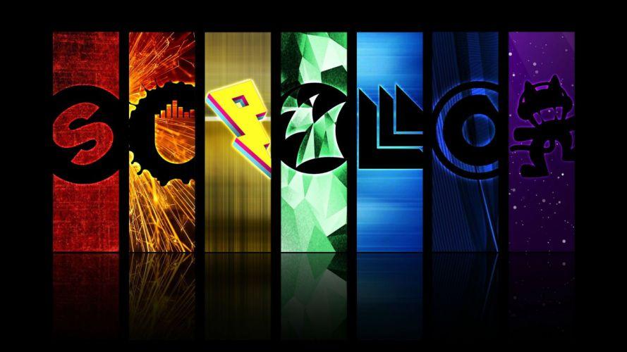 EDM dubstep electro house dance disco electronic concert rave poster wallpaper