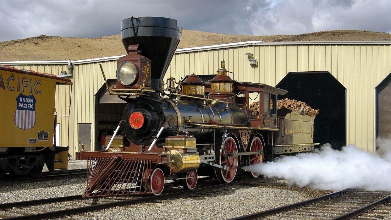 tren maquina vapor wallpaper