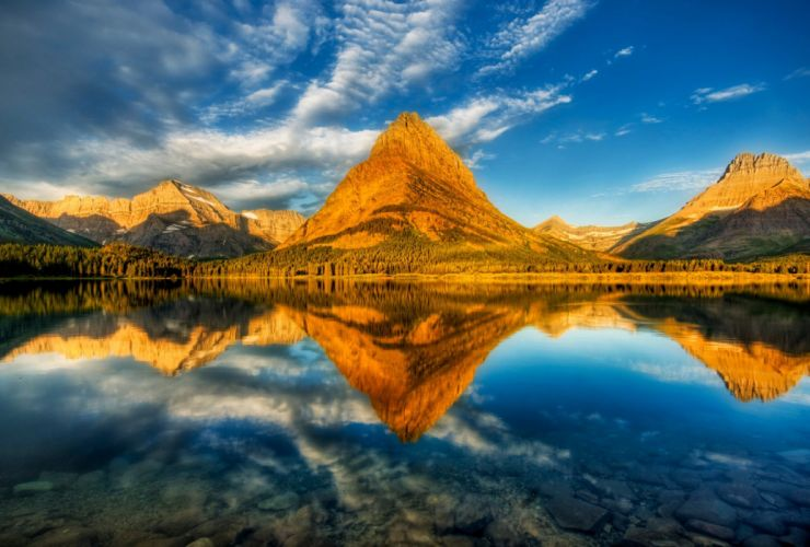 glacier landscape beauty nature sky wallpaper