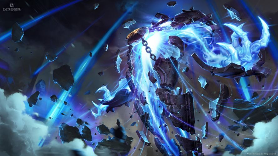 Xerath - League Of Legends wallpaper