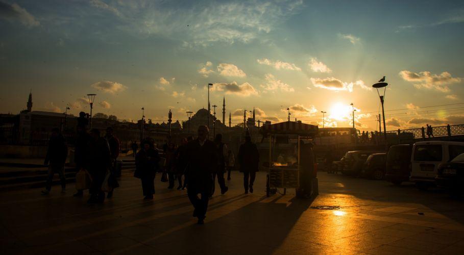original photo turkey emre hanoglu istanbul sky peoples sunset clouds beautiful city wallpaper