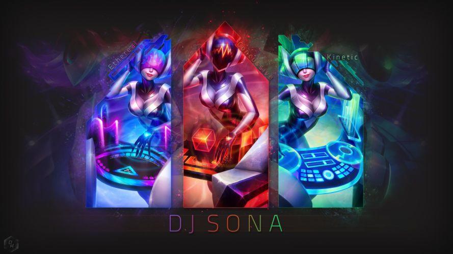 DANCE electro house edm disco electronic pop dubstep hip hop d-j disc jockey league legends fantasy art artwork wallpaper