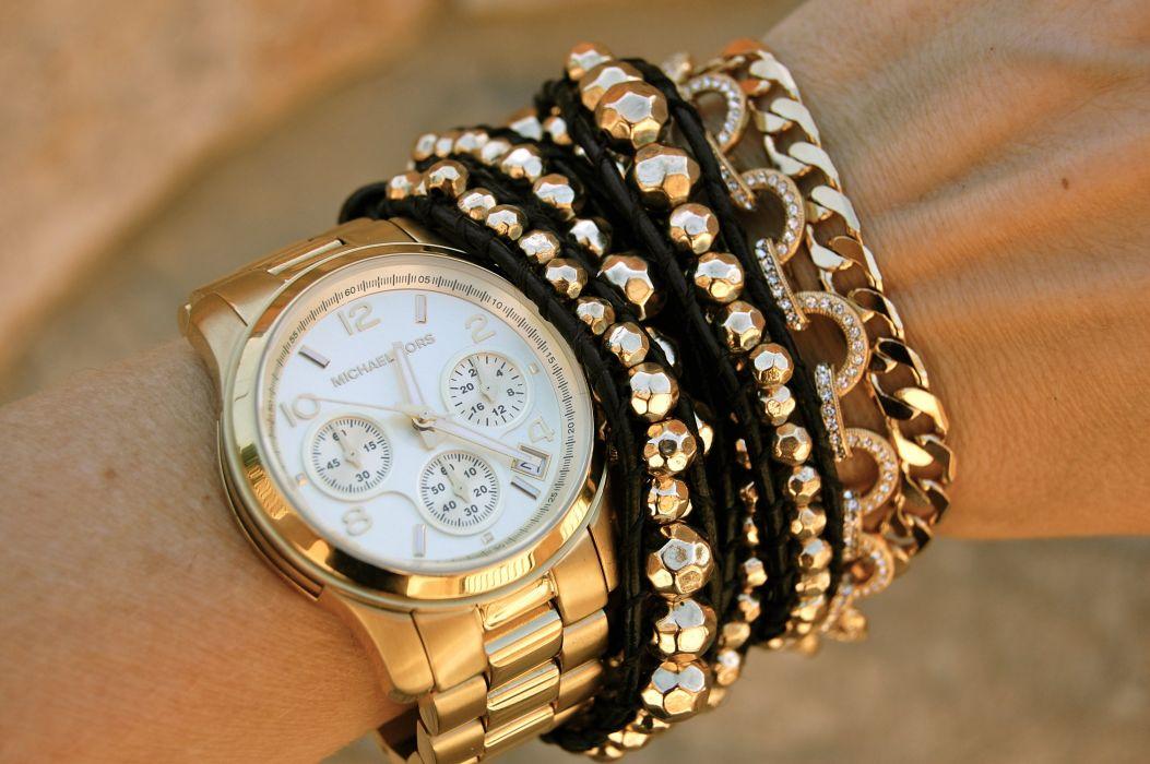 WATCH time clock jewelry detail wallpaper