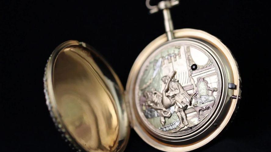 JAQUET DROZ watch time clock jewelry detail luxury wallpaper