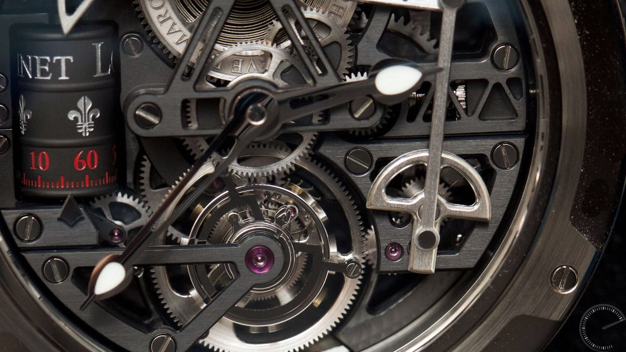LOUIS MOINET watch time clock jewelry detail luxury wallpaper