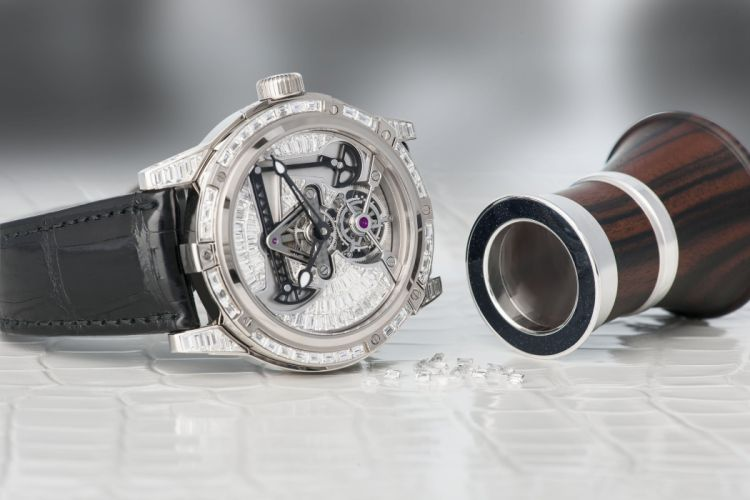 LOUIS MOINET watch time clock jewelry detail luxury wallpaper