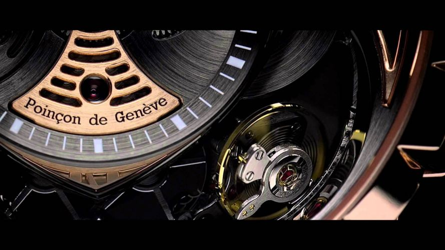ROGER DUBUIS watch time clock jewelry detail luxury wallpaper