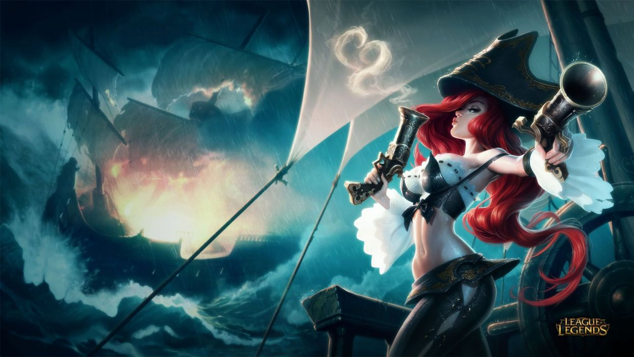 Miss Fortune League Of Legends Wallpaper 1920x1080 981898