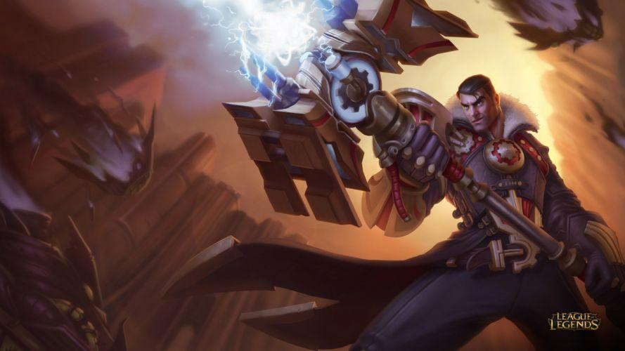 Jayce - League Of Legends wallpaper