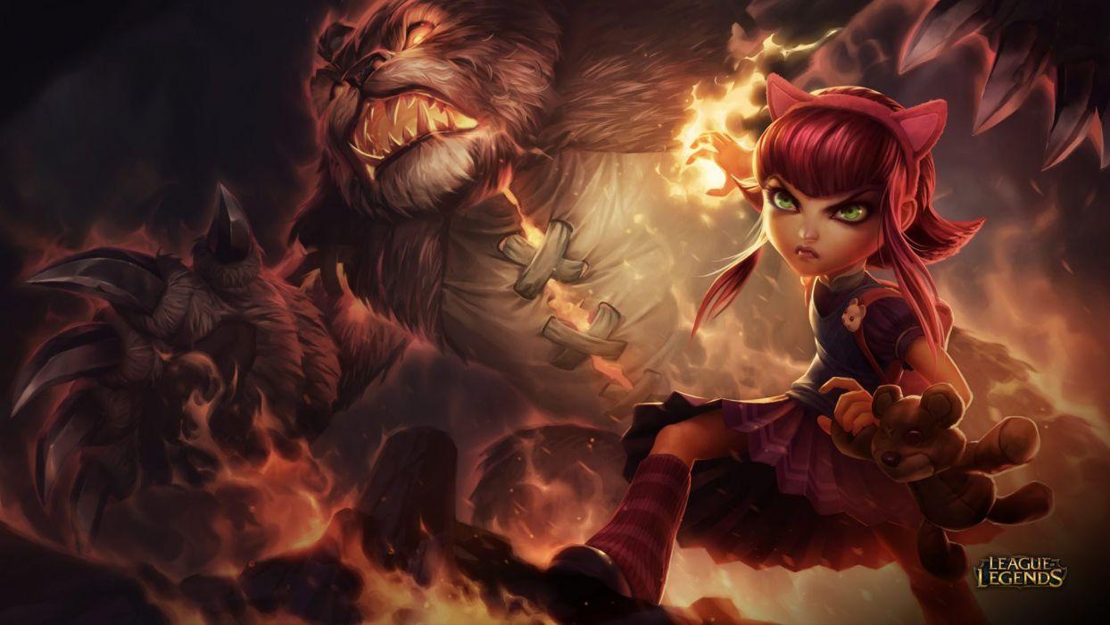 Annie - League Of Legends wallpaper