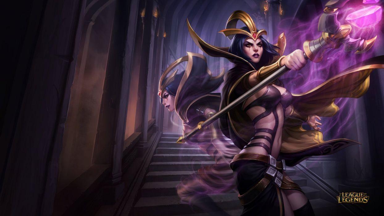 LeBlanc - League Of Legends wallpaper