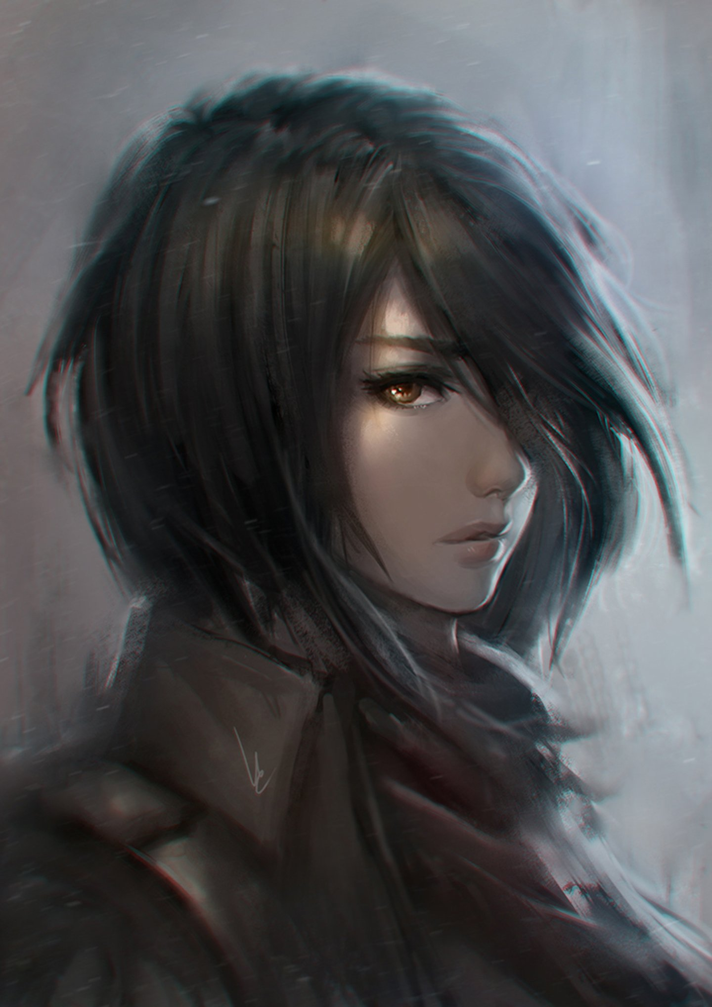 Anime Characters Popular : Anime series character girl short hair wallpaper