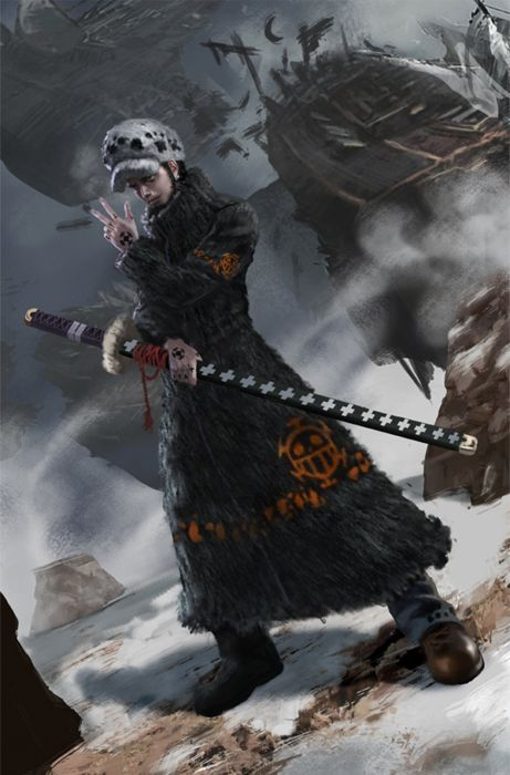 onepiece anime series male sword character wallpaper