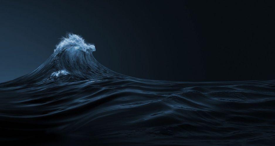 ULYSSE NARDIN watch time clock jewelry detail luxury ocean sea waves wave wallpaper