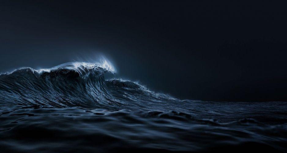 ULYSSE NARDIN watch time clock jewelry detail luxury ocean sea storn wave waves wallpaper