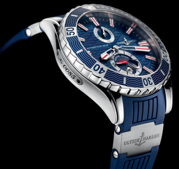 ULYSSE NARDIN watch time clock jewelry detail luxury wallpaper
