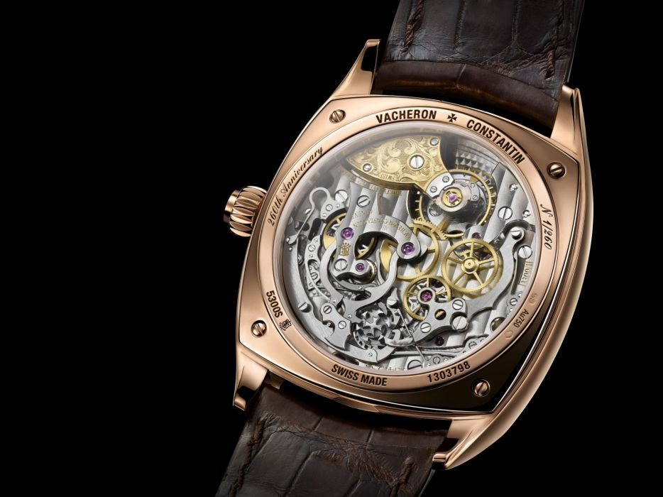VACHERON CONSTANTINE watch time clock jewelry detail luxury wallpaper