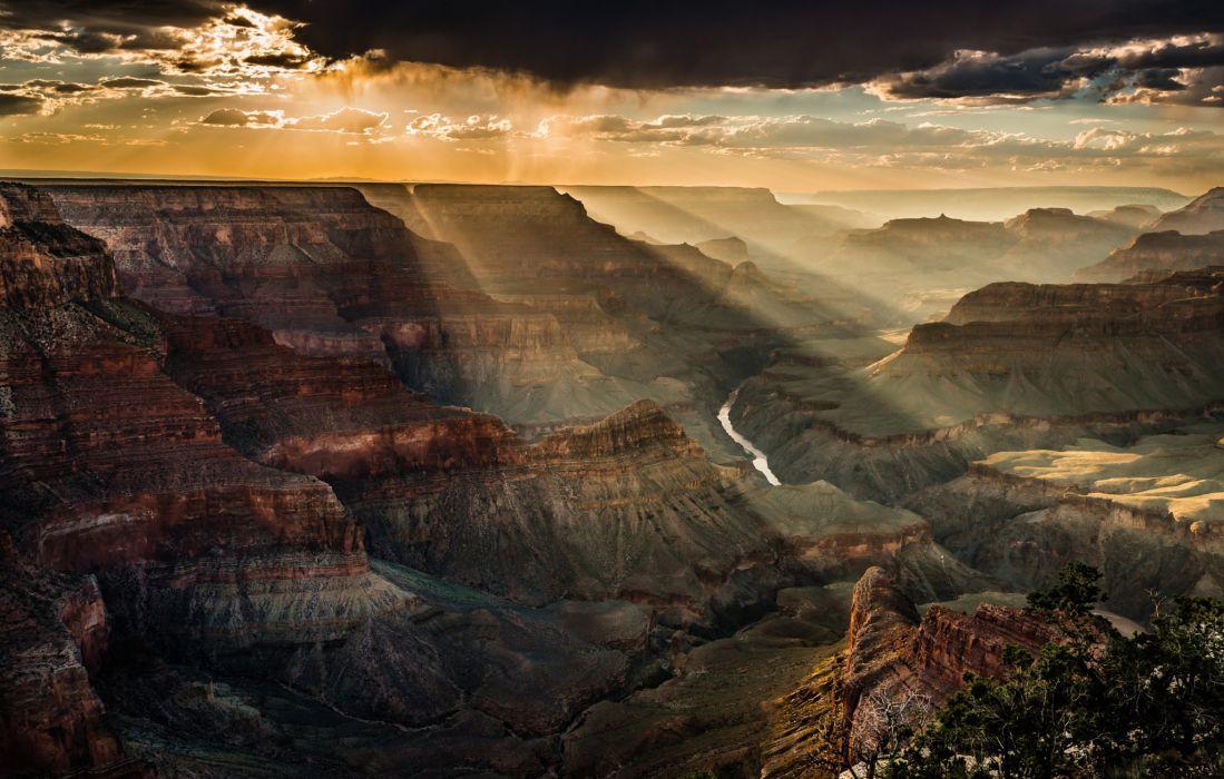 usa canyon mountain top view landscape nature wallpaper