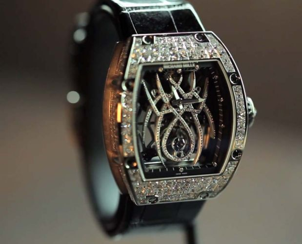 RICHARD MILLE watch time clock jewelry detail luxury wallpaper