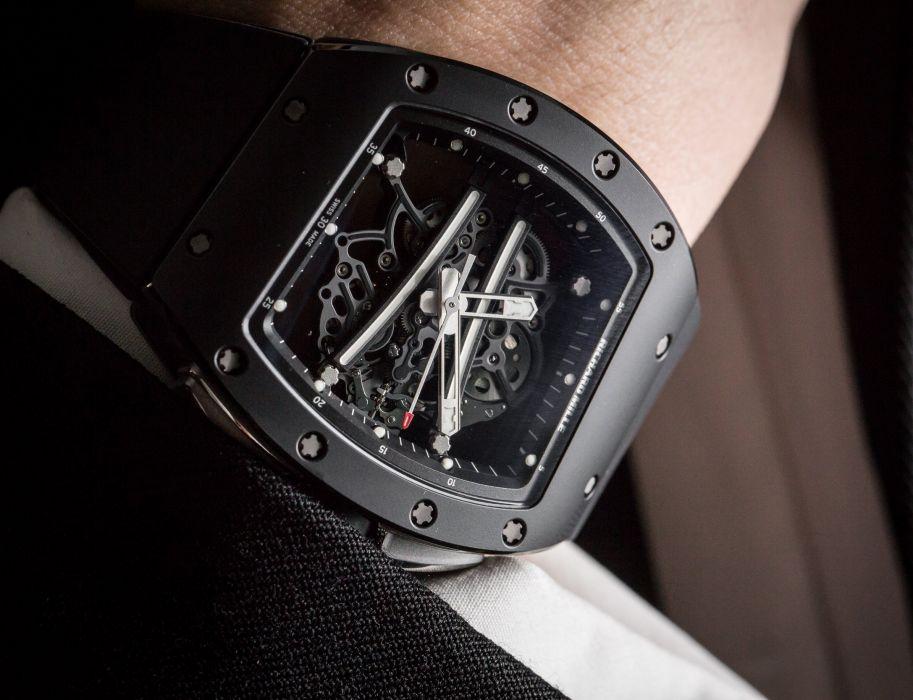RICHARD MILLE watch time clock jewelry detail luxury wallpaper