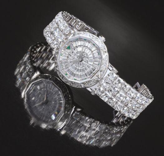 GRAFF watch time clock jewelry detail luxury wallpaper