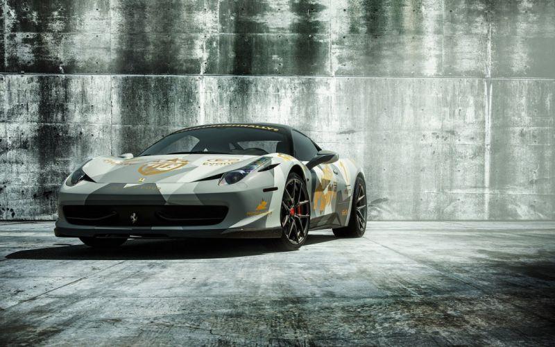 2016 Vorsteiner Ferrari 458 Italia cars modified wallpaper