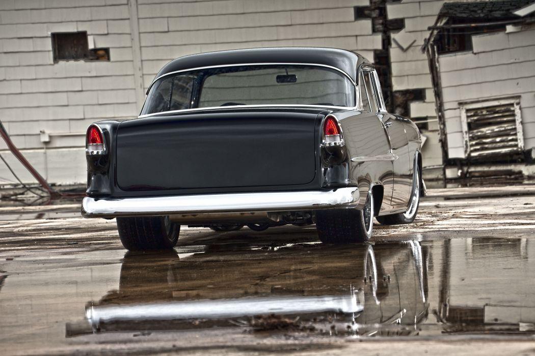 1955 Chevrolet Bel Air cars classic modified wallpaper