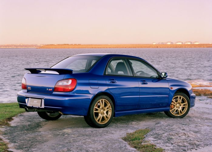 Subaru Impreza WRX STi AU-spec cars 2001 wallpaper