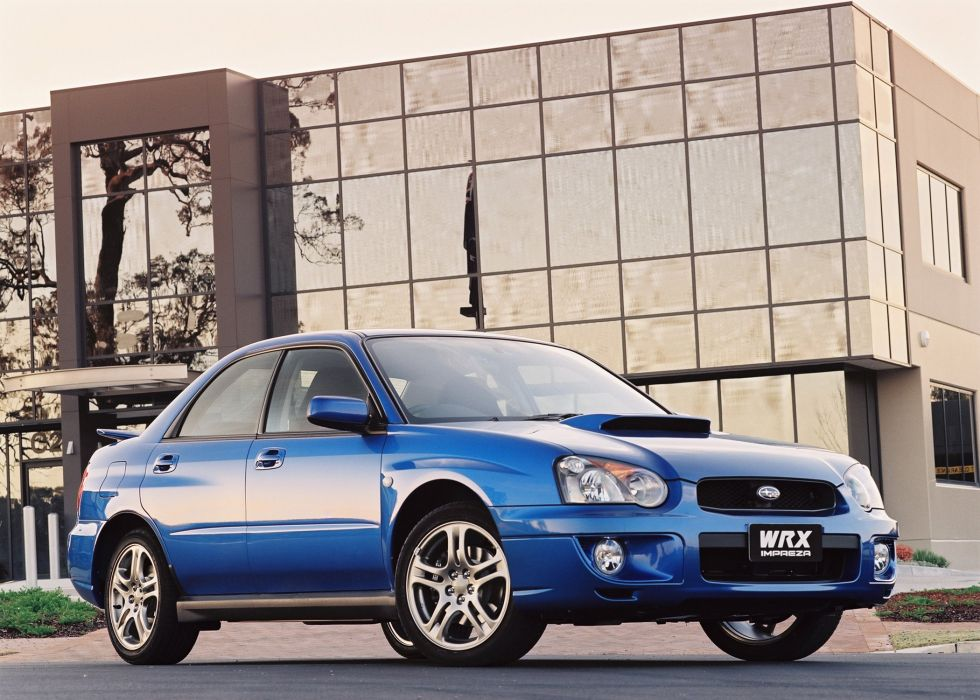Subaru Impreza WRX sti AU-spec cars 2002 wallpaper