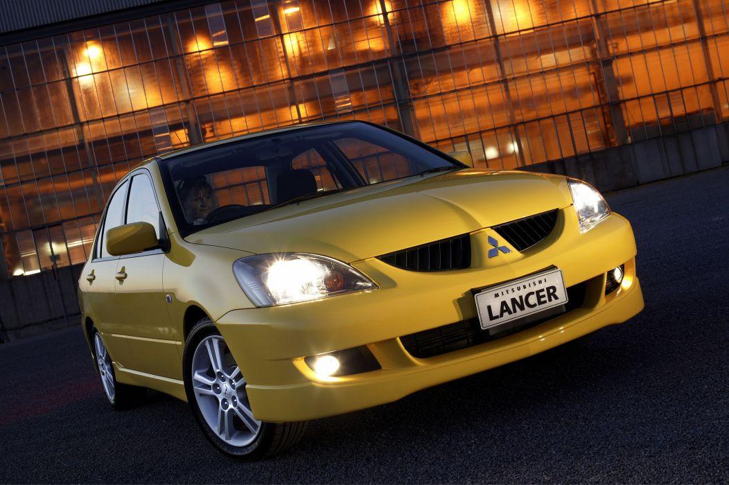 Mitsubishi Lancer VR-X AU-spec cars sedan 2003 wallpaper