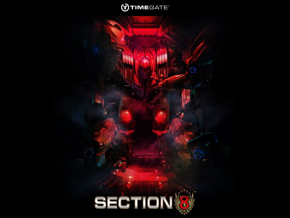 SECTION 8 action fighting futuristic sci-fi warrior shooter 1sect8 fps armor suit poster wallpaper