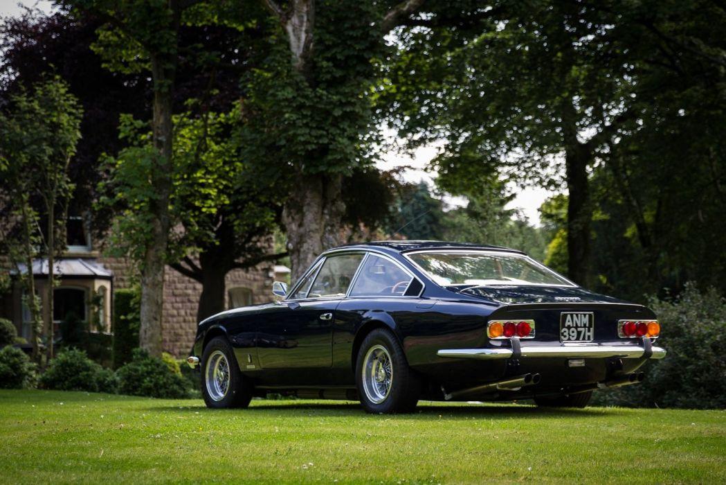 Ferrari 365 GT 2+2 UK-spec 1970 cars classic wallpaper