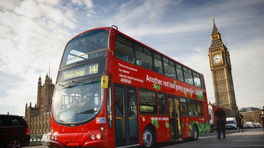 autobus britanico londres linea wallpaper