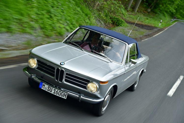BMW 1600-2 Cabriolet (E10) cars classic 1967 wallpaper