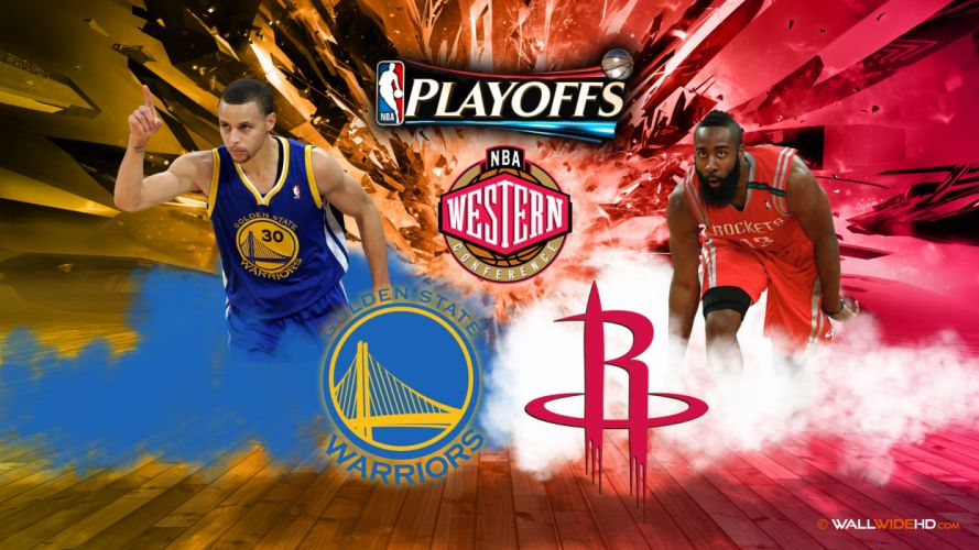 GOLDEN STATE WARRIORS nba basketball poster houston rockets wallpaper